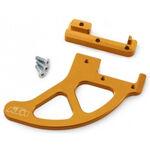 _KTM EXC/SX 04-18 Rear Brake Disc Guard Orange | 5481096120004 | Greenland MX_
