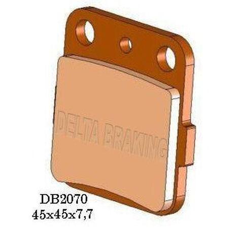 _Pastillas de Freno Delta Delanteras Honda CR 80 R 86-02 CR 85 R 03-07 Traseras KX 80 88-00 KX 85 01- | DB2070 | Greenland MX_