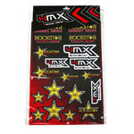 _Planche De Stickers Varies Rockstar 4MX | 01KITA606R | Greenland MX_