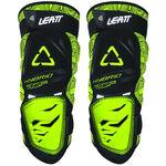 _Leatt 3DF Hybrid Knee Guard Black/Lime | LB50154004300P | Greenland MX_