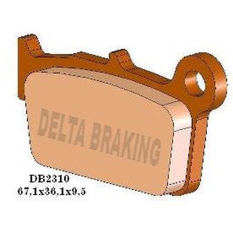 _Pastillas de Freno Delta Traseras Gas Gas 09-13 Yamaha YZ 125/250 03-13 Suzuki RMZ 250 04-13 | DB2310 | Greenland MX_