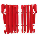 _Beta RR 2 Strokes/4 Strokes 13-18 Radiator Louver Kit Red | 8454400001 | Greenland MX_