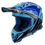 _Airoh Aviator 2.2 Check Helmet Blue   AV22C18   Greenland MX_