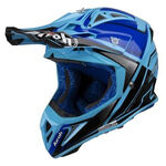 _Airoh Aviator 2.2 Check Helmet Blue | AV22C18 | Greenland MX_