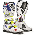 _Sidi Crossfire 2 Boots Yellow/White/Blue | BSD22061400 | Greenland MX_