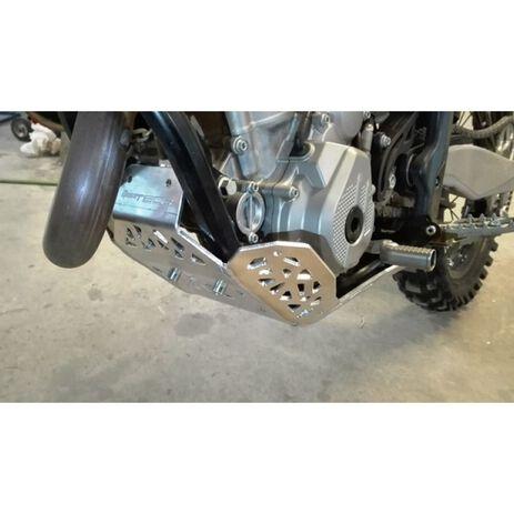 _Cubrecárter con Protector Bieletas P-Tech KTM EXC-F 250/350 17-.. Husqvarna FE 250/350 17-.. | PK007H | Greenland MX_