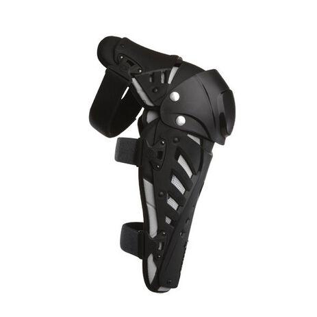 _Fox Titan Pro Knee Guards Black | 06192-001-OS | Greenland MX_