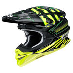 _Shoei Helmet VFX-WR Grant3 TC-3   VFXWRGRTC30   Greenland MX_