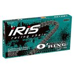 _Cadena Iris Black O´Ring 520 Reforzada Retenes 118 Pasos | 91951340118100 | Greenland MX_