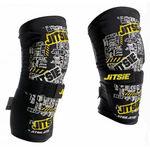 _Jitsie trial Dynamic kid knee guard black pair   JI-12T1-6000K   Greenland MX_
