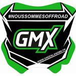 _GMX Mini Plate Sticker 5,5 x 5,5 cm | PU-MBFPFR-P | Greenland MX_