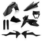 _Acerbis KTM EXC/EXC-F 17-19 Plastic Kit Full Black   0022371.090-P   Greenland MX_