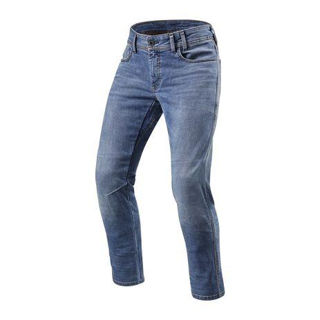 _Rev'it Detroit Jeans TF L34 Classic Blue Used | FPJ036-6211 | Greenland MX_