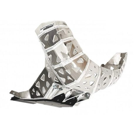 _P-Tech P-Tech Skid Plate with Exhaust Pipe Guard and Plastic Bottom Beta RR 250/300 2020 | PK017B | Greenland MX_