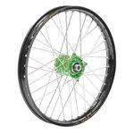 _Rueda Delantera Talon-Excel Kawasaki KX 125/250 04-08 KX 250/450 F 04-..21 x 1.60 Verde-Negro | TW776GRBK | Greenland MX_