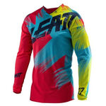 _Leatt GPX 4.5 Lite Jersey Red/Lime | LB5019011280P | Greenland MX_