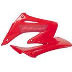 _Polisport Honda CR 125/250 R 02-07 Radiator Coops Red | 8427000007 | Greenland MX_
