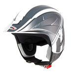 _Shiro K2 Grafic Trial Helmet Black   000736N-P   Greenland MX_