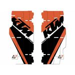 _Blackbird Radiator Louver Decal Kit Réplica Team Trophy KTM SX/SXF 13-15 EXC 14-16 | A501R17 | Greenland MX_
