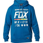 _Sudadera Fox District 2 Azul | 19691-157-P | Greenland MX_