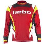 _Jersey Hebo Trial Race Pro III Rojo | HE2174R-P | Greenland MX_