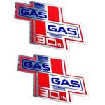 _Pareja de Adhesivos GAS GAS 30th Aniversario | PU00642014 | Greenland MX_