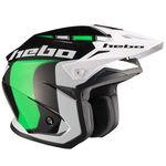 _Hebo Zone 5 Like Trial Helmet Green XL | HC1115VXL | Greenland MX_