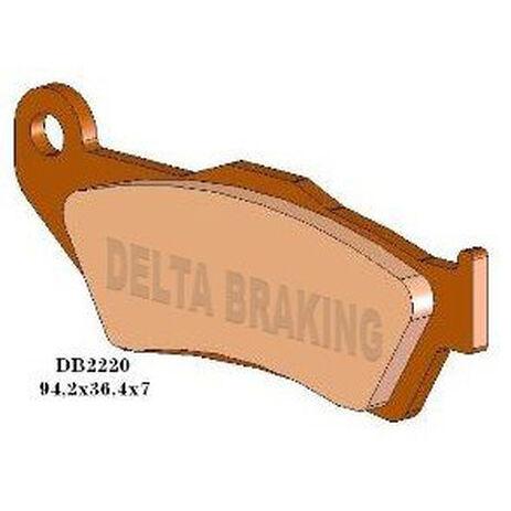 _Pastillas de Freno Delta Delanteras Gas Gas EC 97-99 KTM EXC 98-19 TM (Pinza B | DB2220 | Greenland MX_