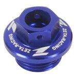 _Tapón Llenado Aceite Honda Yamaha Azul | ZE89-2112 | Greenland MX_