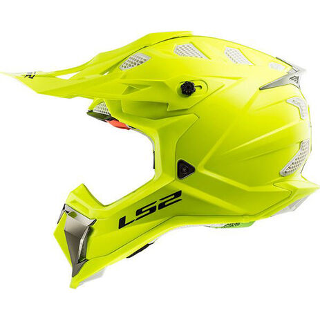 _LS2 MX470 Subverter Solid Helmet Yellow Fluo | 404701054P | Greenland MX_