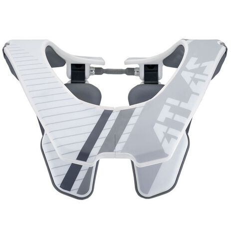 _Atlas Arctic Covert Neck Support White/Gray | AA100010P | Greenland MX_