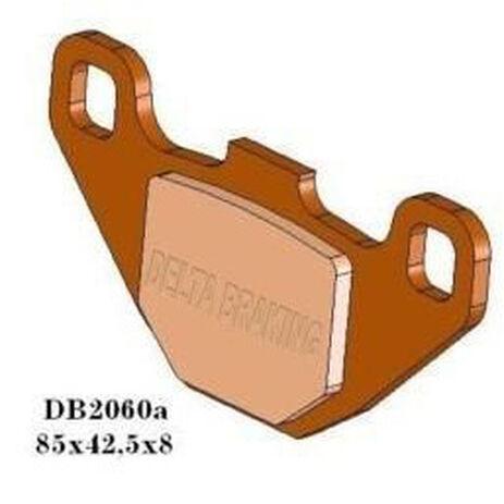 _Delta Front Brake Pads Kawasaki KX 80 88-96 RM 80 86-95 Rear RM 80 90-01 RM 85 02-04 | DB2060 | Greenland MX_