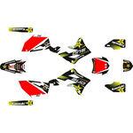 _Kawasaki KX 450 F 12-15 Full Sticker Kit Rockstar | SK-KX4501215RKS-P | Greenland MX_
