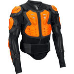 _Fox Titan Sport Jacket Black/Orange | 10050-016-P | Greenland MX_