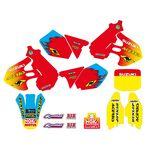 _Tecnosel Decal Kit + Seat Cover Replica Team Suzuki 1999 RM 125/250 99-00 | 83V03 | Greenland MX_