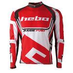 _Hebo Trial Race Pro II Jersey Red XL | HE2172RXL | Greenland MX_