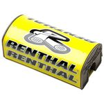 _Renthal fat bar square handlebar pad Yellow | P283-P | Greenland MX_