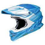 _Shoei Helmet VFX-WR Zinger TC-2   VFXWRZTC20   Greenland MX_