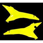 _Honda CRF 250 R 14-16 CRF 450 13-16 EU Airbox Filter Covers Yellow Fluor | 0016892.061 | Greenland MX_