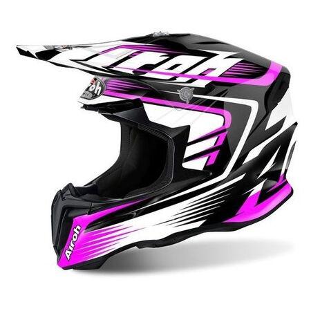_Airoh Twist Mix Pink 2017 Helmet | TWMX54 | Greenland MX_