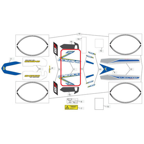 _Espuma Asiento Blackbird KTM EXC/EXC-F 12-16 SX/SX-F 11-15 | 4505 | Greenland MX_