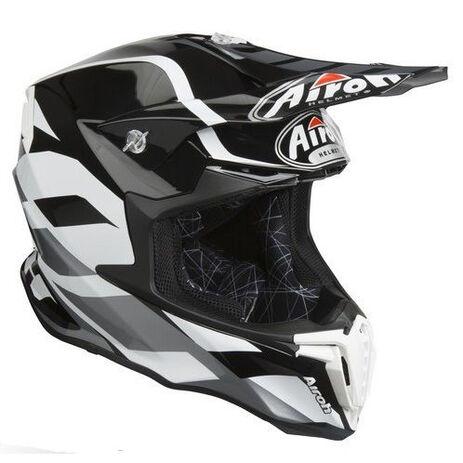 _Airoh Twist Great Helmet Gray   TWGR16   Greenland MX_