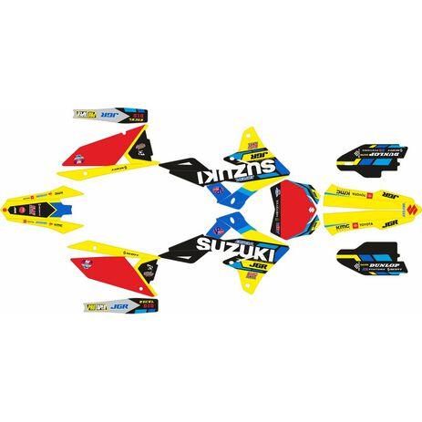 _Full Sticker Kit Suzuki RMZ 250 19-20 RMZ 450 18-20 JGR Edition | SK-SRMZ4501820JGRR-P | Greenland MX_