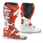 _Bottes Forma Terrain TX Blanc/Rouge | FORC350-9810 | Greenland MX_