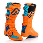 _Acerbis X-Team Boots Orange/Blue | 0022999.204 | Greenland MX_
