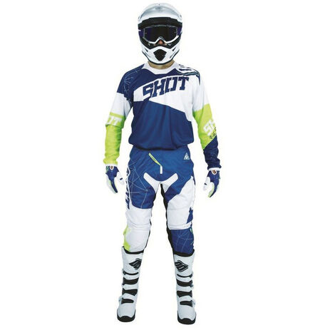 _Shot Contact Infinite 2018 Pants Blue/White/Yellow Fluo   A0D-11B1-A04   Greenland MX_