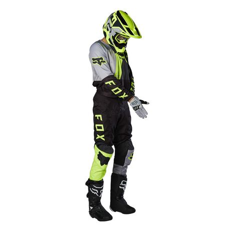 _Fox 180 Lovl Special Edition Black/Yellow Fluo Jersey | 26526-019 | Greenland MX_