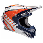 _Thor Sector Ricochet Helmet Blue/Orange | 01105166-P | Greenland MX_