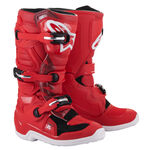 _Alpinestars Tech 7S Youth Boots Red | 2015017-30 | Greenland MX_