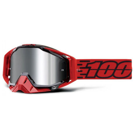 _100% Goggles Racecraft Plus Toro Silver Mirror | 50120-278-02 | Greenland MX_